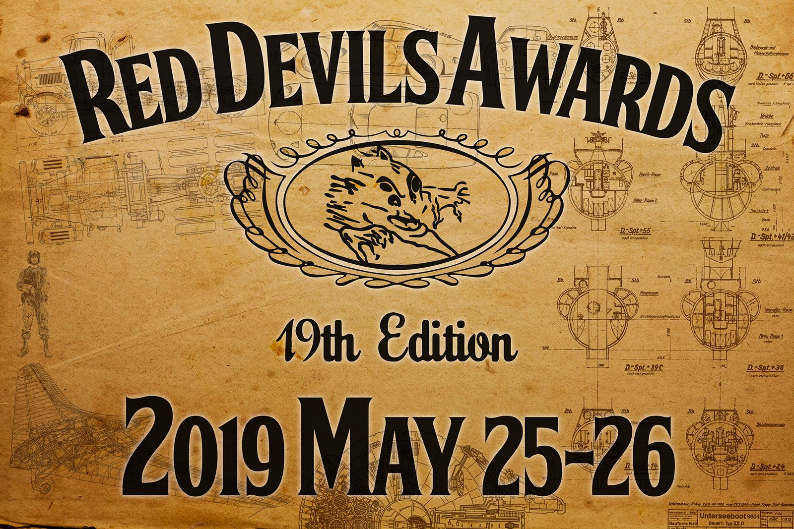 Locandina dell'evento Red Devils Awards 2019